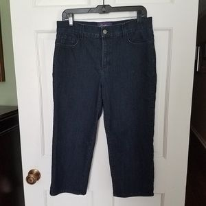 NYDJ denim cropped jeans